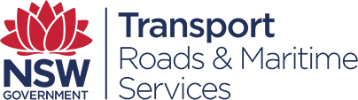 Logo transport nsw roads maritime services